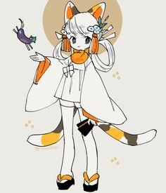 由 チナツ (@mosopate)   Twitter 提供的媒体推文 Fantasy Character Design, Character Design Inspiration, Character Concept, Character Art, Concept Art, Creepy Art, Sketch Inspiration, Cute Anime Character, Character Design References
