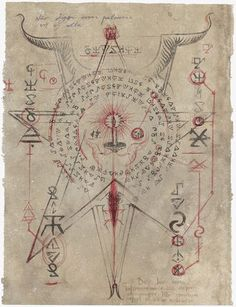 Page from Necronomicon Lovecraft