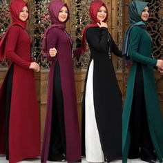 Check out trending dresses for Abaya Fashion, Women's Fashion Dresses, Hijabi Gowns, Latest Indian Fashion Trends, Hijab Style Dress, Modele Hijab, Muslim Women Fashion, Hijab Trends, Turkish Fashion