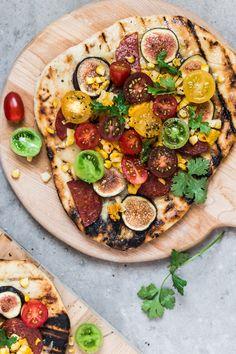 La pizza grillée de la fin d'été ! | Christelle is Flabbergasting