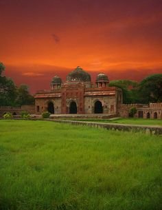 New Delhi, India: Lodhi Gardens, an escape within the city. My husband and I used to love evening strolls here with the family. One of my favorite urban spaces.