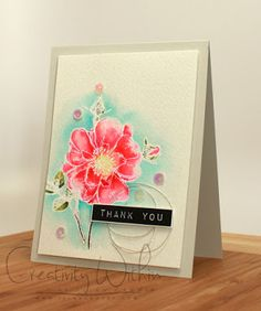 Creativity Within : Antique Thank You Rose