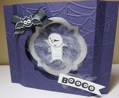 Googly Ghouls Shadow Box by Jodi