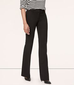 Petite Custom Stretch Trouser Leg Pants in Marisa Fit | LOFT