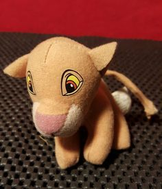 Walt Disney Lion King 2 Simba Stuffed Animal Toy Vintage Plush Simba's Pride Movie Collectible by VintageQuest77 on Etsy https://www.etsy.com/listing/265084885/walt-disney-lion-king-2-simba-stuffed