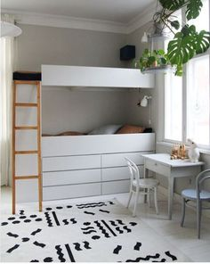 27 Details Kids Room That Always Look Great - Home Decoration Experts Kids Bedroom Decor, Kids Room, Diy Bunk Bed, Home Decor, Bed, Loft Spaces, Bedroom Decor, Bunk Beds, Kids Bedroom