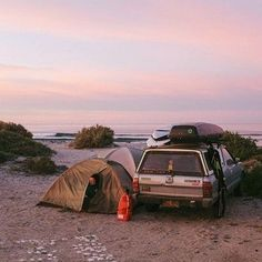 RV And Camping. Great Ideas To Think About Before Your Camping Trip. For many, camping provides a relaxing way to reconnect with the natural world. If camping is something that you want to do, then you need to have some idea Beach Camping, Go Camping, Camping Outdoors, Camping Stove, Adventure Awaits, Adventure Travel, Strand Camping, Camping Sauvage, Rivers And Roads