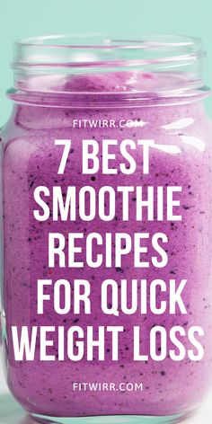 Fast Weight Loss Tips, Weight Loss Meal Plan, Weight Loss Drinks, Weight Loss Smoothies, Healthy Weight Loss, Homemade Smoothies, Yummy Smoothie Recipes, Good Smoothies, Detox Recipes