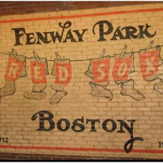 Joel and I have been...want the kids to see Fenway too.