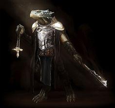dragonborn paladin of kord