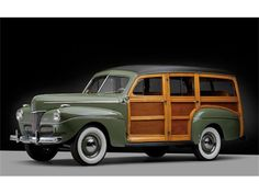 #AmericanCars - '41 Ford Woody