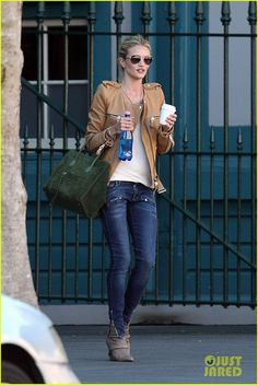Rosie Huntington-Whiteley. I just really want her wardrobe.