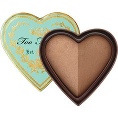 I tried this Too Faced Sweethearts Bronzer Baked Luminous Glow Bronzer in Sweet Tea at Ulta the other day....Phenomenal. I'm adding this to my wish list. So beautiful with just a hint of radiance.