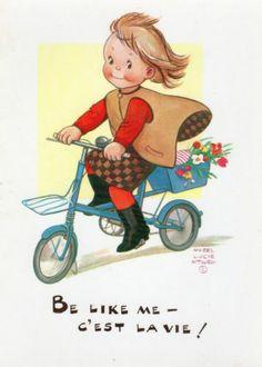 〆(⸅᷇˾ͨ⸅᷆ ˡ᷅ͮ˒) Mabel Lucie Attwell postcard