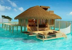 Six Senses Resort in the Maldives