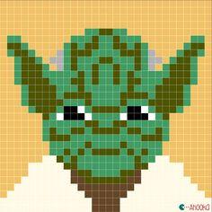 - suite - couverture star wars... magnifique modèle gratuit... star wars crochet blanket by ahooka... star wars charts by ahooka
