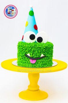 Ideas Birthday Cake Boys Monster For 2019 Monster Party, Monster Birthday Cakes, Monster Birthday Parties, Cake Birthday, 1 Year Old Birthday Party, Baby Boy 1st Birthday, Birthday Party Decorations, Family Birthdays, First Birthdays