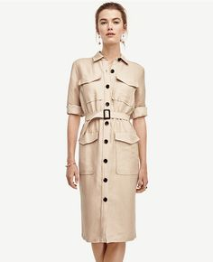 Primary Image of Safari Trench Dress