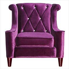 Barrister Chair in Purple - LC8441PURPLE - Lowest price online on all Barrister Chair in Purple - LC8441PURPLE