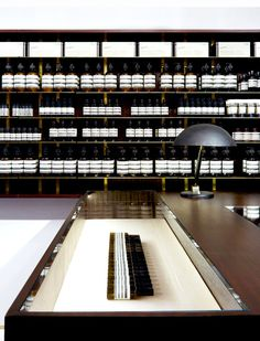Aesop Saint Sulpice store by Dimore Studio