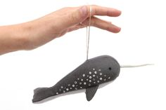 Narwhal Ornament Tutorial