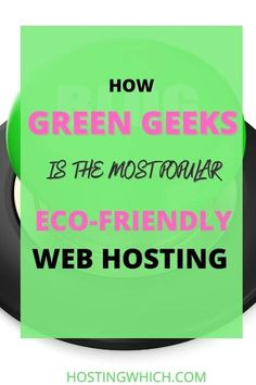 Green Geeks(How To Find The Best Eco-Friendly Host?) % % % % - Hostingwhich Green Geeks stands behind its claim of being environmentally aware by providing web hosting to offset 300% of the new carbon being made from the power they consume. They clearly state that they are 300% powered by renewable energy. Furthermore, they have a nice section of hosting plans that can accommodate anyone's budget, and these include optimized WordPress…