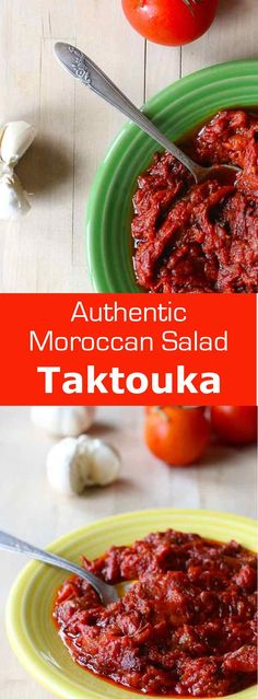 Taktouka is a zesty Moroccan salad that perfectly balances the smokiness of roasted peppers with the sweetness of tomatoes. #Morocco #NorthAfrica #Magheb #196flavors