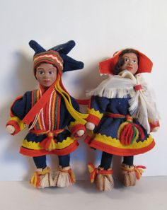 Sami couple with rubber heads.