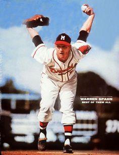 Warren Spahn. Milwaukee Braves.