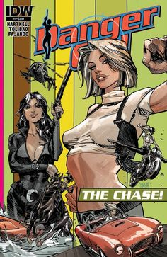 Danger Girl : the Chase n°1. Cover by Dan Panosian