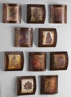 Wooden Fossil Collage Wall Art - Wall Sculptures - Wall Decor - Home Decor   HomeDecorators.com