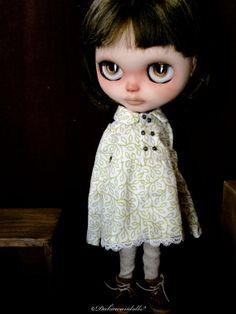 Blythe Doll Outfit / 1/6 doll size / Cotton / por Dakawaiidolls