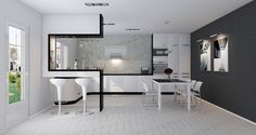 Дизайн кухни в стиле хай тек - 12 фото идей