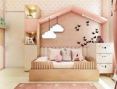 Buying Bunk Beds For Kids – Bunk Beds for Kids Kids Bedroom Designs, Baby Room Design, Bedroom Ideas, Baby Bedroom, Baby Room Decor, Kids Bunk Beds, Toddler Rooms, Toddler Girl, Little Girl Rooms