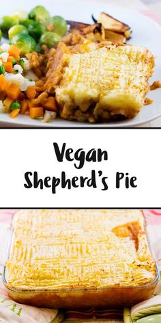 There's nothing more comforting than shepherd's pie, right? Well, how about a twist on the traditional? A vegan shepherd's pie! Still just as comforting and perfect for an easy weeknight meal!