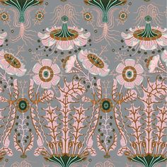 """Vintage Floral Wallpaper Wall Mural, Unprepasted Non-woven Fabric Each Roll is Inches Wide by 11 Yard Long, Covering 57 Square ft. Fabric Wallpaper, Wall Wallpaper, Dusky Pink Wallpaper, Pink And Green Wallpaper, Antique Wallpaper, Disney Wallpaper, Wallpaper Roll, Wallpaper Quotes, Wallpaper Backgrounds"