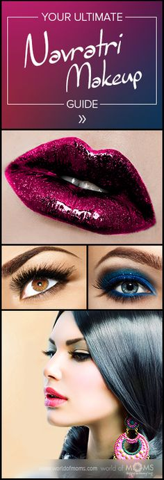 Look ravishing this #Navratri with our complete, step-by-step makeup guide!