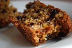 Upiecz mnie: banana muffins with chocolate chips
