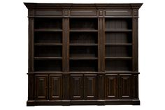 Jessica Bookcase.  This can be done in one shelving pier, two piers, three or four!  It also comes in all of our Signature colors.  Click the following link to shop online: http://www.passportfurnishings.com/products-page/bookcases/jessica-library/