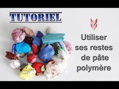 Tuto Fimo/polymère Comment utiliser ses restes - Cane Stroppel à ma façon - - YouTube