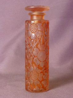 Exceedingly Rare R Lalique Forvil Chypre French Art Deco  Perfume Bottle 1920s