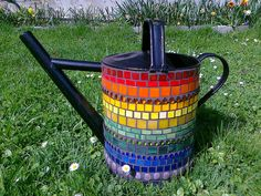 rainbow watering can from american_in_austria's photostream via Flickr
