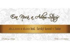 Svadobné oznámenie - SD003