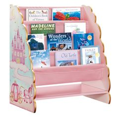Guidecraft 'Princess' Wooden Book Display, £59.99 via The Little Furniture Co.