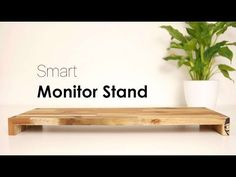 How to make a monitor stand mini ITX computer - YouTube