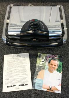 Wolfgang Puck 'Bistro Collection' Indoor Grill & Panini Press SOLD! Was available at Gadgets & Gold in Gainesville, FL!