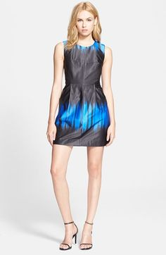 Milly 'Coco' Silk Dress   Nordstrom
