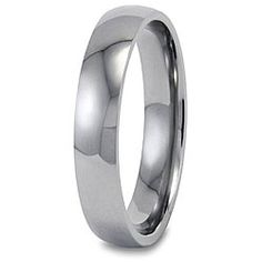 @Overstock - Click here for Ring Sizing ChartDomed band features a comfort-fit designTitanium jewelryhttp://www.overstock.com/Jewelry-Watches/Mens-Titanium-Polished-Domed-Comfort-fit-Band-4-mm/3933234/product.html?CID=214117 $31.99
