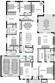Floorplan like the kitchen pantry butlers layout. Liz