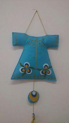 . Kaftans, Felt Christmas, Emeralds, Fabric Art, Garland, Amigurumi, Garlands, Trapillo, Pendants